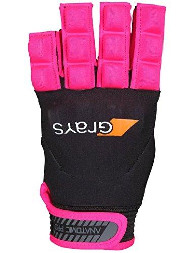 Grays Anatomic Pro Hockey Glove - Black/Pink (2016/17) - XX Small, Black/Pink - Pro Hockey Gloves