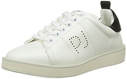 Plain Jeans Pepe de Blanco Zapatillas deporte 800White Blanc Mujer Sofia 1gwwdE