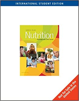 Nutrition Through the Life Cycle (ISE) by Judith Brown (2007-08-24)