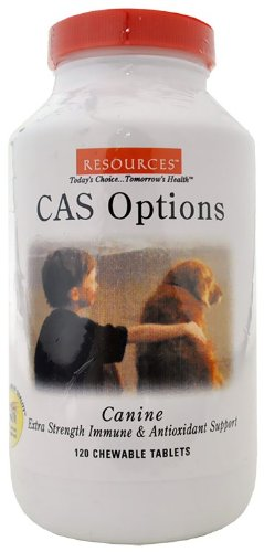 RESOURCES Canine CAS Options (120 Tablets), My Pet Supplies
