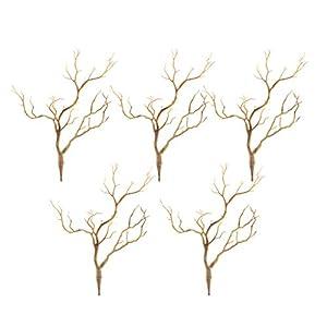 B Blesiya Pack 5PCS Artificial Simulation Tree Branch Stick Twig for Home Flower Arrangement 42