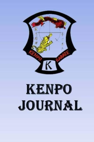 Kenpo Journal: Keep track of your Kenpo self defense techniques in this Kenpo Journal