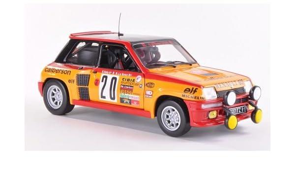 Renault 5 Turbo, No.20, Calberson, Rally Monte Carlo , 1981, Modelo de Auto, modello completo, UH 1:18: Amazon.es: Juguetes y juegos