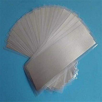 153 mm x 77 mm High Purity Indium Metal Foil Sheet
