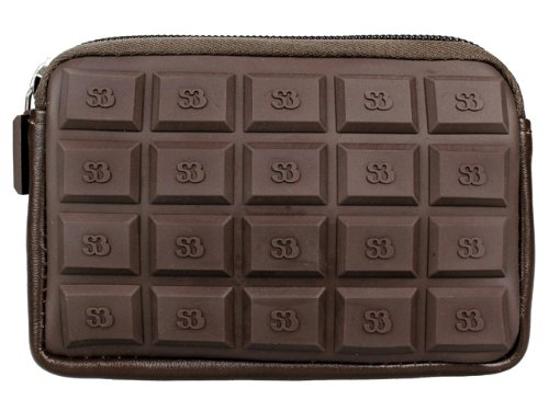 Monedero Chocolate EDICION CH1 Marron Oscuro: Amazon.es ...