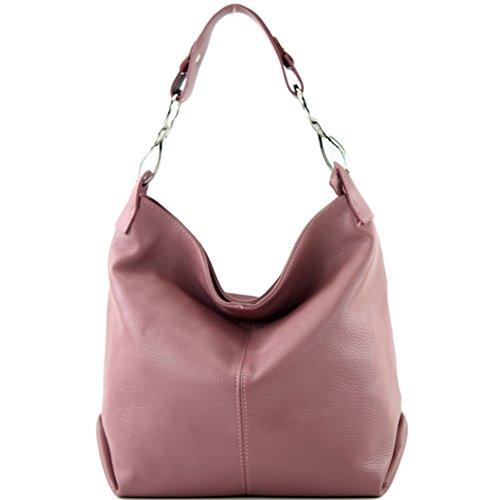 Ital Ladies Bag Modamoda Shoulder T168 De Altrosa Leather 5Bw8zq