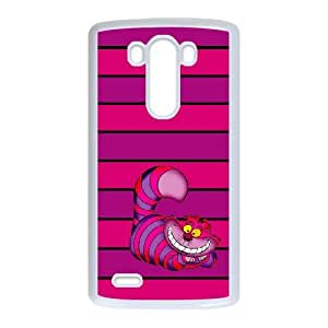 LG G3 Cell Phone Case for Classic Theme lovely Cheshire Cat in Wonderland Cartoon pattern design GLYCCIW94800