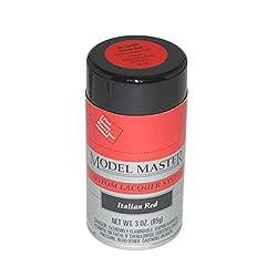 Testors Italian Red, 3oz Spray Paint ~ 28109 ^