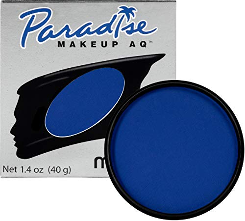 Mehron Makeup Paradise Makeup AQ Face & Body Paint (1.4 oz) (Dark Blue)
