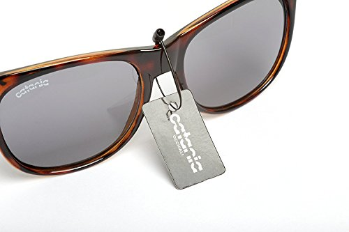 et UV400 100 Nouvelle Collection La Turtleshell Catania UVA Soleil Unisexes de Lunettes Protection Occhiali UVB aYxwqzAF