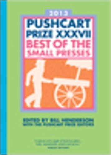 Amazon com: The Pushcart Prize XXXVII: Best of the Small Presses