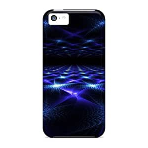 Awesome Design Blue Stars Hard Case Cover For Iphone 5c