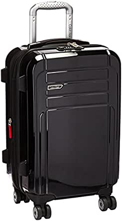 """Calvin Klein Rome 21"""" Upright Carry-on Suitcase, Black"""