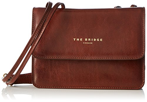 The Bridge - 04241701, Borse a Tracolla Donna Braun (14)