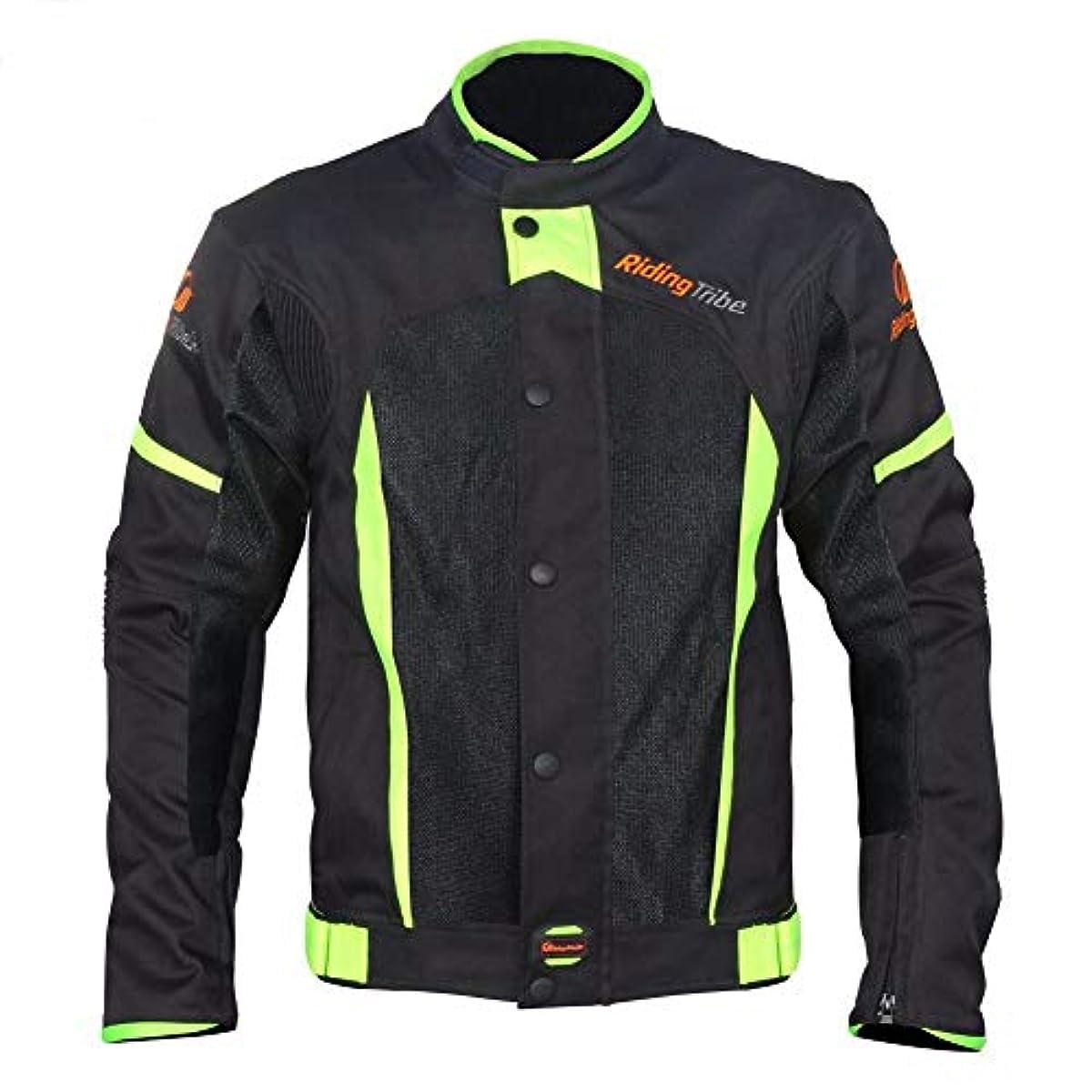 [해외] 레이싱 웨어 FIDGETFIDGET 유니 오토바이 재킷 5개의 패드 부착 여름의 방수 오토바이 사이클링 슈트 라이더 레이싱복 anti크래쉬 오토바이 슈트 방수성,방풍성,통기성 5사이즈 선택가 4XL