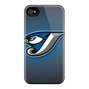 [nUI5693oYtU] - New Toronto Blue Jays Protective Iphone 4/4s Classic Hardshell Cases