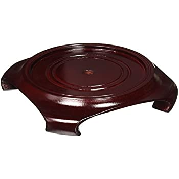 Amazon Oriental Furniture Rosewood Vase Stand Size 5 In