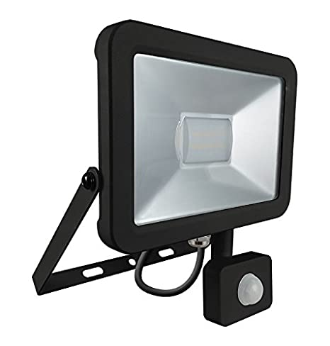 c3e55178db5 Crompton Atlas LED Mini Floodlight with PIR 10w