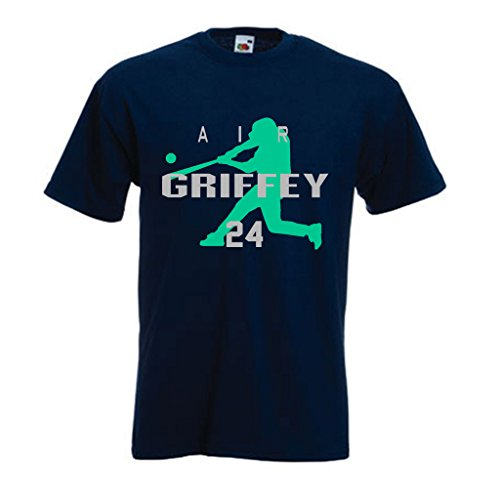 "Ken Griffey Jr Seattle Mariners ""AIR HOME RUN"" T-Shirt YOUTH MEDIUM"