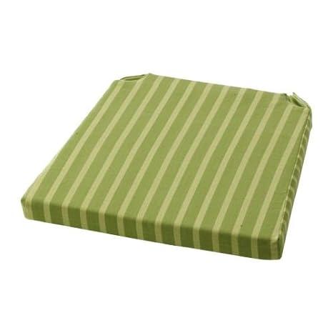 IKEA MAJVOR-Cuscino per sedia, colore: verde, 41,5 x 35 x 41 x 10 cm ...