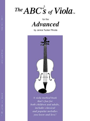 (The ABCs of Viola for the Advanced, Book 3)