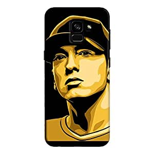 Cover It Up - Eminem Renegade Galaxy A8 Plus Hard Case