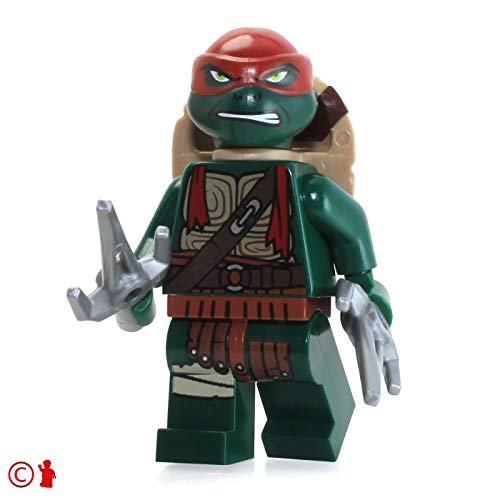 LEGO TMNT Teenage Mutant Ninja Turtles Minifigure - Raphael (with Two Sai's) 79116