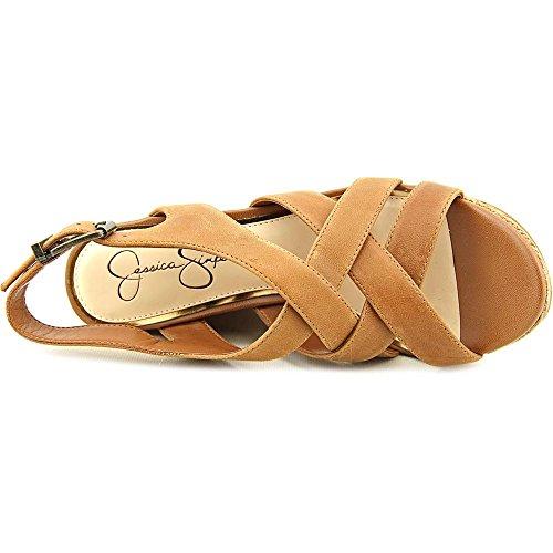 Jessica Simpson Jamallo Women US 10 Tan Wedge Heel pnLe1