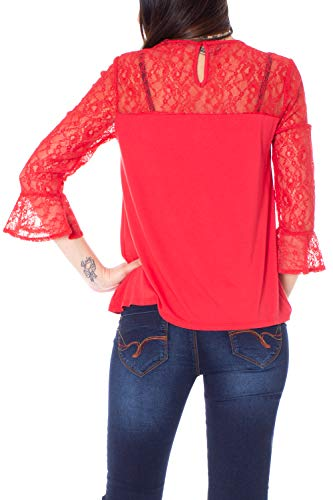Ts Rosso Desigual T 19swtkan3061xs alegra shirt pqXEwXa
