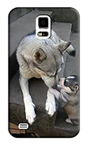 Husky Hard Back Shell Case / Cover for Samsung Galaxy S5
