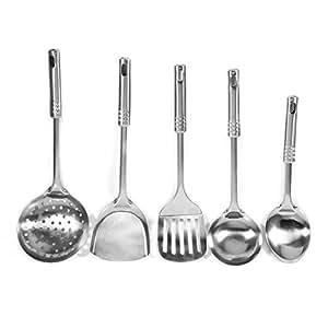 Amazon.com: 5pcs utensilios de cocina multifuncional Set ...