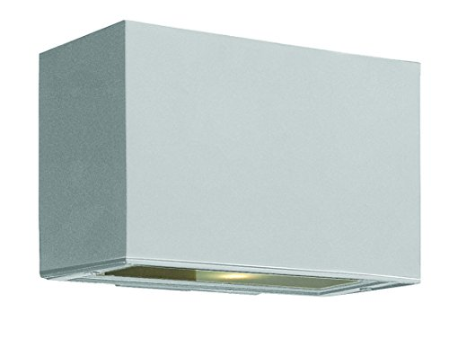 Hinkley 1645TT Transitional One Light Wall Mount from Atlantis collection in Pwt, Nckl, B/S, Slvr.finish,