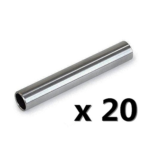 20pcs Tattoo 304 Stainless Steel gun Machine Back Stem Tube Grip Tip Needle Supply Back Stem