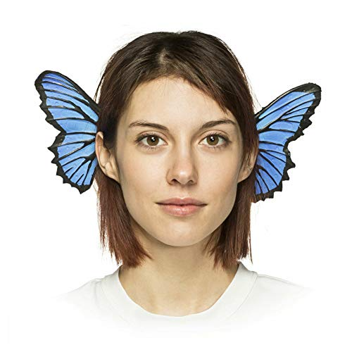 HMS Unisex-Adult's Supersoft Blue Butterfly Headband, One