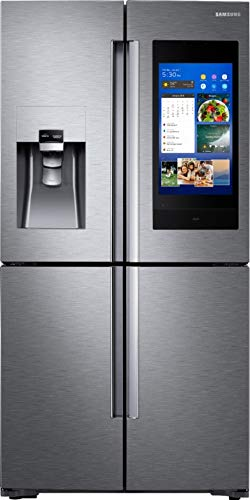 (Samsung 28 Cu. Ft. Stainless Steel 4-Door Flex French Door Refrigerator With Family Hub)