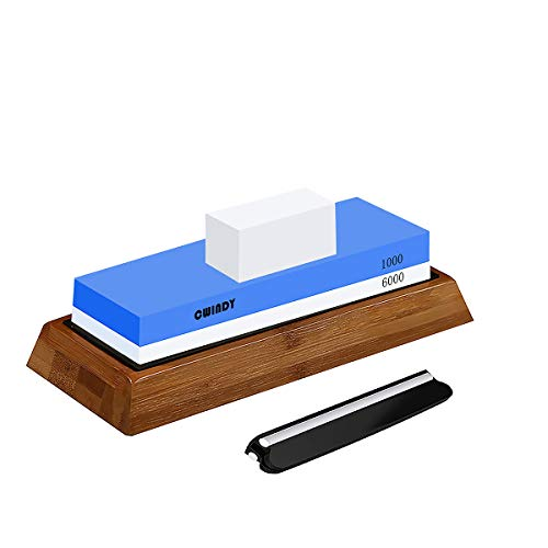 CWIDNY 1000/6000 Grit Sharpening Stone Whetstones Knife Sharpening Stones Waterstones