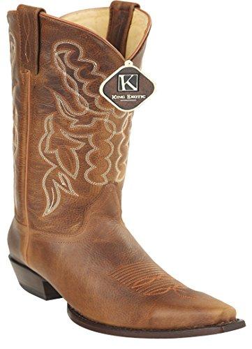 Leather Snip Toe Genuine Honey Skin Boots Women's Rage Western qOSIwOd
