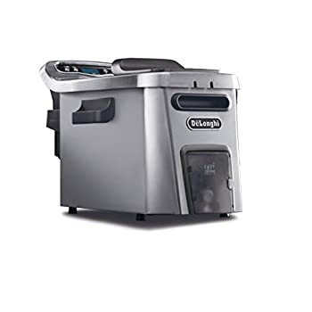 Image of DeLonghi D44528DZ Livenza Easy Clean Deep Fryer, Silver Home and Kitchen
