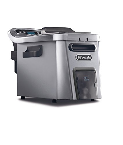 DeLonghi D44528DZ Livenza Easy Clean Deep Fryer, Silver (Best Small Deep Fryer)