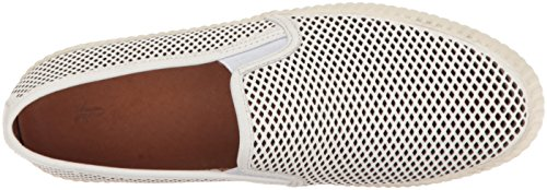 FRYE Women's Camille Perf Slip Fashion Sneaker White outlet new styles qBS1dy8