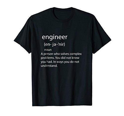 - Engineer Noun T Shirt for Men Women Engineering Professional