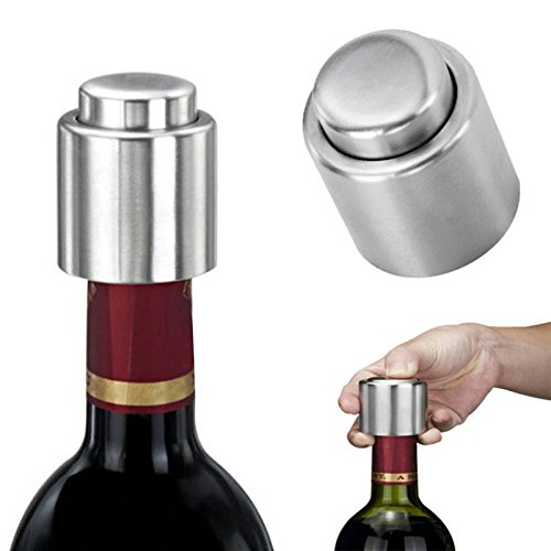 Champagne Gold Tile Flooring (MIJORA-Stainless Steel Vacuum Sealed Red Wine Storage Bottle Stopper Plug champagne NA)