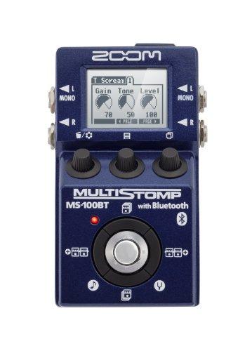 Zoom MS100BT MultiStomp Guitar Bluetooth