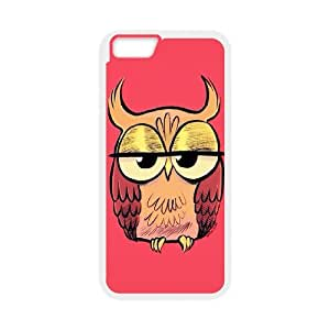 "QWSPY Owl Phone Case For iPhone 6 Plus (5.5"") [Pattern-4]"