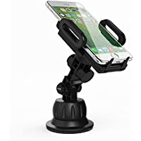 Satechi Universal Car Holder & Mount for iPhone 6 Plus, 6, 5S, 5C, 5, Samsung Galaxy S6 Edge, S6, S5, Note 3, Nexus S, HTC One X, S, Motorola Droid Maxx, on Windshield & Dashboard (Car Holder)