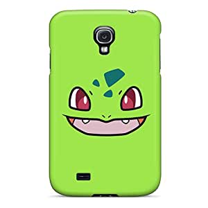 Defender Case For Galaxy S4, Lime Green Pattern