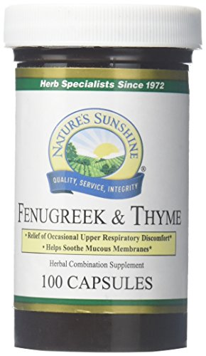 natures sun shine Fenugreek And Thyme (100)
