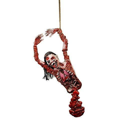 Halloween Haunters Life-Size Hanging Human Zombie Ghoul Torso