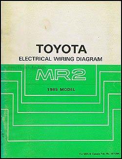 1985 toyota mr2 wiring diagram manual original toyota amazon com 1985 MR2 Custom