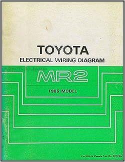 [ZSVE_7041]  1985 Toyota MR2 Wiring Diagram Manual Original: Toyota: Amazon.com: Books   1985 Wiring Diagram      Amazon.com